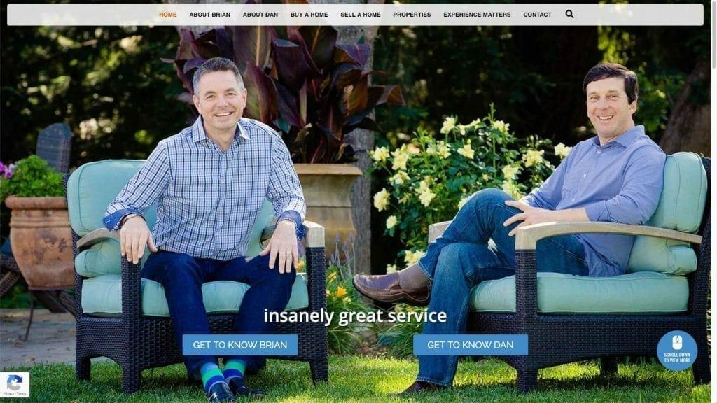 prowebsitecreators portfolio briananddan