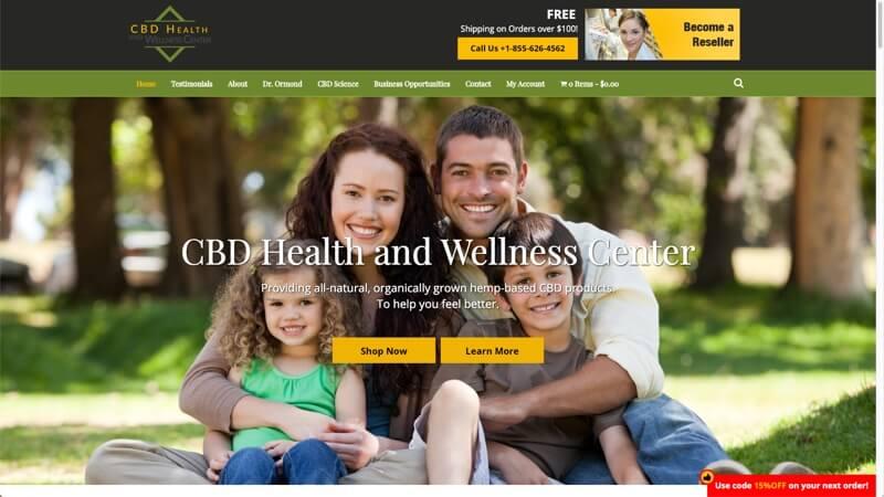 prowebsitecreators portfolio mycbdforwellness