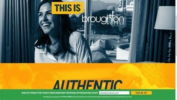 prowebsitecreators portfolio thisisbroughtonhotels