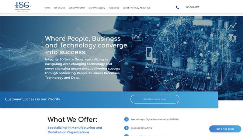 Integrity Software Group Portfolio